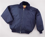 Security Bomber Jacket w/ Epaulets