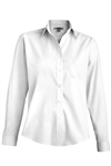 Ladies Long Sleeve Dress Shirt - [65% polyester / 35% cotton]